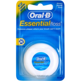 Oral B Essential Floss hilo dental con cera  50 m