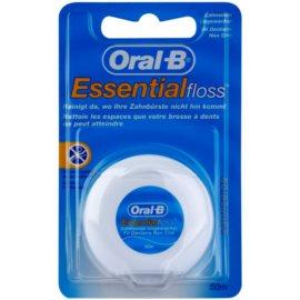Oral B Essential Floss nevoskovaná dentální nit  50 m