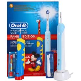 Oral B Family Edition D16.513.U + D10.51K elektrický zubní kartáček + elektrický zubní kartáček pro děti