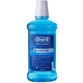 Oral B Pro-Expert Clinic Line Mundwasser ohne Alkohol Geschmack Cool Mint Flavour 500 ml