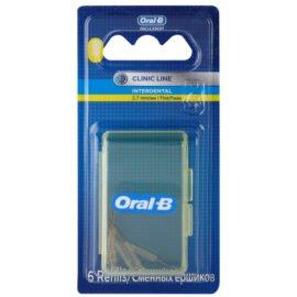 Oral B Pro-Expert Clinic Line náhradní mezizubní kartáčky v blistru 6 ks 2.7 mm Fine