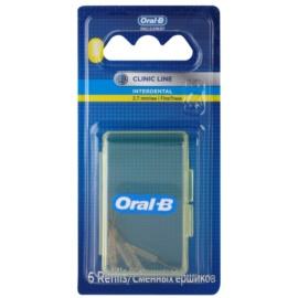 Oral B Pro-Expert Clinic Line tartalék fogköztisztító kefe csomagolásban 6 db 2.7 mm Fine