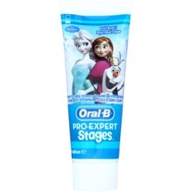 Oral B Pro-Expert Stages Frozen Zahnpasta für Kinder Geschmack Fruit Burst  75 ml