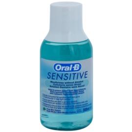 Oral B Sensitive apa de gura pentru dinti sensibili aroma Fresh Mint  300 ml