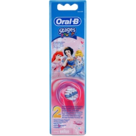 Oral B Stages Power EB10 Princess recambio para cepillo de dientes  extra suave   2 ud