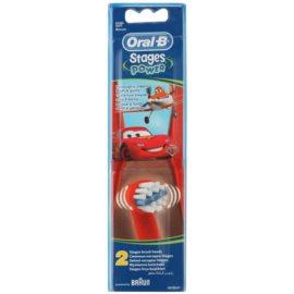 Oral B Stages Power EB10 Cars náhradní hlavice pro zubní kartáček extra soft  2 ks