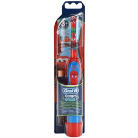 Oral B Stages Power DB4K Cars Children's Battery Toothbrush Soft 3+