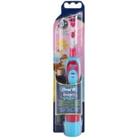 Oral B Stages Power DB4K Princess Escova de dentes com bateria para crianças soft