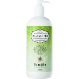 Oranjito Massage Pro Massage Milk With Aloe Vera  750 ml
