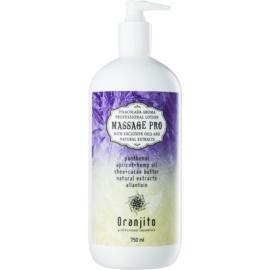 Oranjito Massage Pro masažni losjon z vonjem pina colade  750 ml