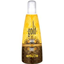 Oranjito Max. Effect Gold Turbo Lapte de bronzare la solar pentru accelerarea bronzului  250 ml