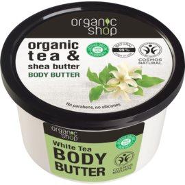 Organic Shop Organic Tea & Shea Butter intenzivno vlažilno maslo za telo   250 ml