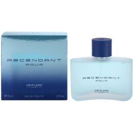 Oriflame Ascendant Aqua Eau de Toilette für Herren 75 ml