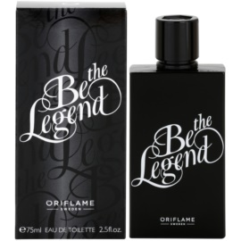 Oriflame Be the Legend Eau de Toilette für Herren 75 ml