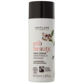 Oriflame Eco Beauty дневен крем  за освежаване и изглаждане на кожата  50 мл.