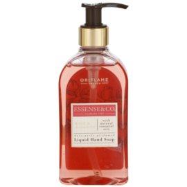 Oriflame Essense and Co tekuté mýdlo na ruce růže a santalové dřevo  300 ml