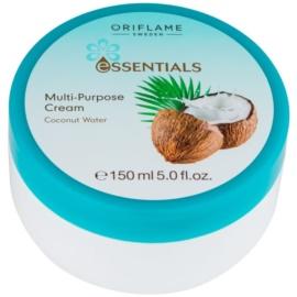 Oriflame Essentials crema para cara y cuerpo con coco  150 ml