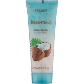 Oriflame Essentials exfoliante facial  con coco  75 ml