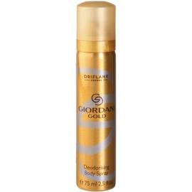 Oriflame Giordani Gold Deo-Spray für Damen 75 ml