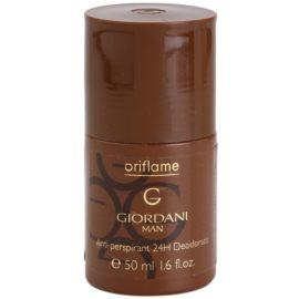 Oriflame Giordani Man deodorant roll-on pre mužov 50 ml
