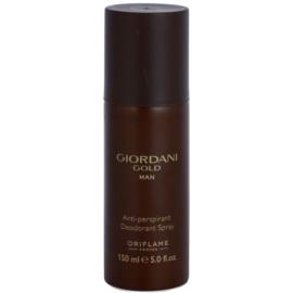 Oriflame Giordani Gold Man Deo-Spray für Herren 150 ml
