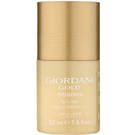 Oriflame Giordani Gold Original desodorante roll-on para mujer 50 ml