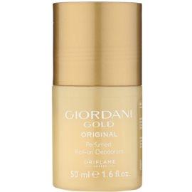 Oriflame Giordani Gold Original deodorant roll-on pro ženy 50 ml