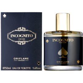 Oriflame Incognito Eau de Toilette für Herren 50 ml