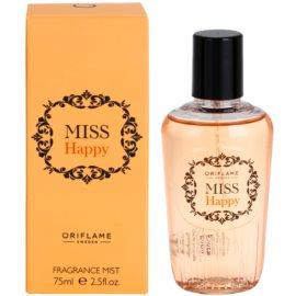 Oriflame Miss Happy tělový sprej pro ženy 75 ml