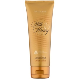 Oriflame Milk & Honey Gold peeling para mãos  75 ml