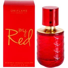 Oriflame My Red parfémovaná voda pro ženy 50 ml