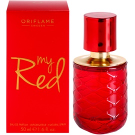 Oriflame My Red Eau de Parfum für Damen 50 ml