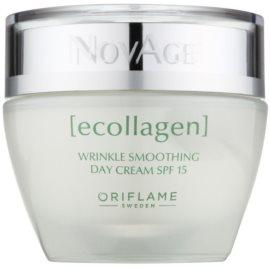 Oriflame Novage Ecollagen crema antiarrugas con efecto alisador SPF 15  50 ml