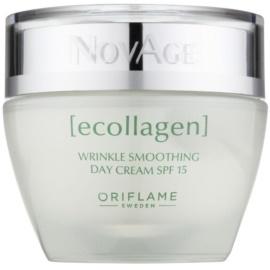 Oriflame Novage Ecollagen изглаждащ крем против бръчки SPF 15  50 мл.