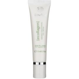 Oriflame Novage Ecollagen crema alisadora para contorno de ojos antiarrugas y antiojeras  15 ml