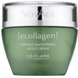 Oriflame Novage Ecollagen нічний крем проти зморшок  50 мл