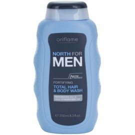 Oriflame North For Men sprchový gel a šampon 2 v 1  250 ml