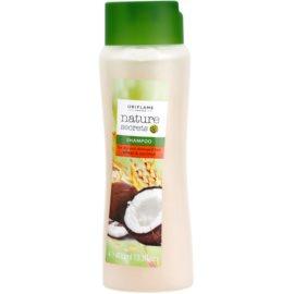 Oriflame Nature Secrets champú para cabello seco y dañado  400 ml