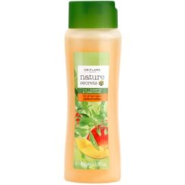 Oriflame Nature Secrets šampon a kondicionér 2 v 1 pro všechny typy vlasů  400 ml