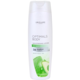 Oriflame Optimals Body feutigkeitsspendende Milch für trockene Haut 24 H  250 ml