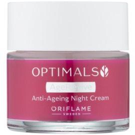 Oriflame Optimals crema de noche antiarrugas   50 ml