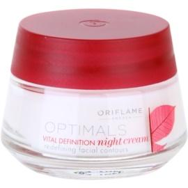 Oriflame Optimals Vital Definition zpevňující noční krém  50 ml