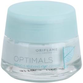 Oriflame Optimals Seeing Is Believing krema za osvetljevanje predela okoli oči proti temnim kolobarjem (Lingon 50:50) 15 ml