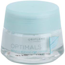 Oriflame Optimals Seeing Is Believing rozjasňující oční krém proti tmavým kruhům (Lingon 50:50) 15 ml