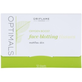 Oriflame Optimals Oxygen Boost hartii matifiante  50 buc
