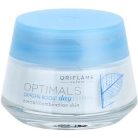 Oriflame Optimals Oxygen Boost osvěžující denní krém pro normální až smíšenou pleť  50 ml