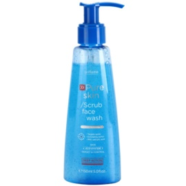 Oriflame Pure Skin gel de curatare si exfoliant fata  150 ml