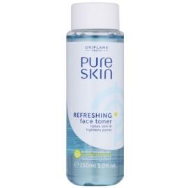 Oriflame Pure Skin tónico facial refrescante para cerrar los poros  150 ml