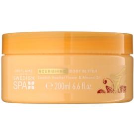 Oriflame Swedish Spa manteiga corporal  com óleo de amêndoas  200 ml