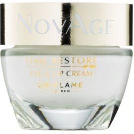 Oriflame Novage Time Restore crema para contorno de ojos y labios  15 ml